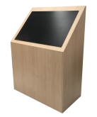 Timber Touchscreen Kiosk