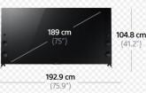 """75"""" (190cm) LCD 5516"""