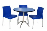 Cafe Package 3 Seat - Blue