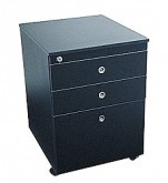 Mobile Pedestal Black - 4322