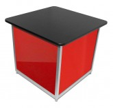 Small Square Plinth Red 5330