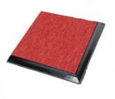 Raised Floor Red Carpet 5428