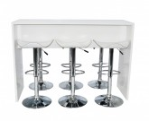 Cocktail Bench Package - White